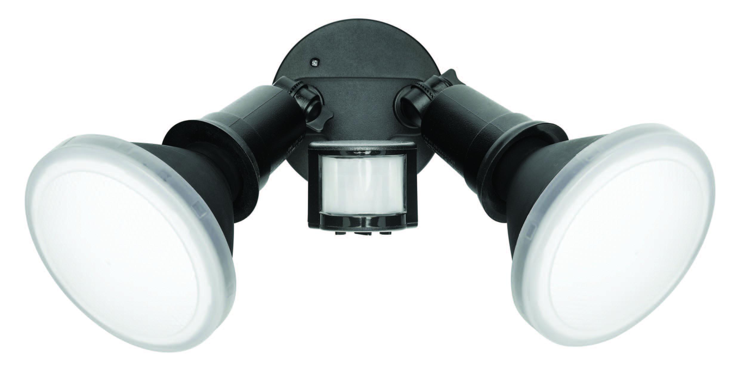Sl1222 Par38 Led Security Light With Sensor Twin Head